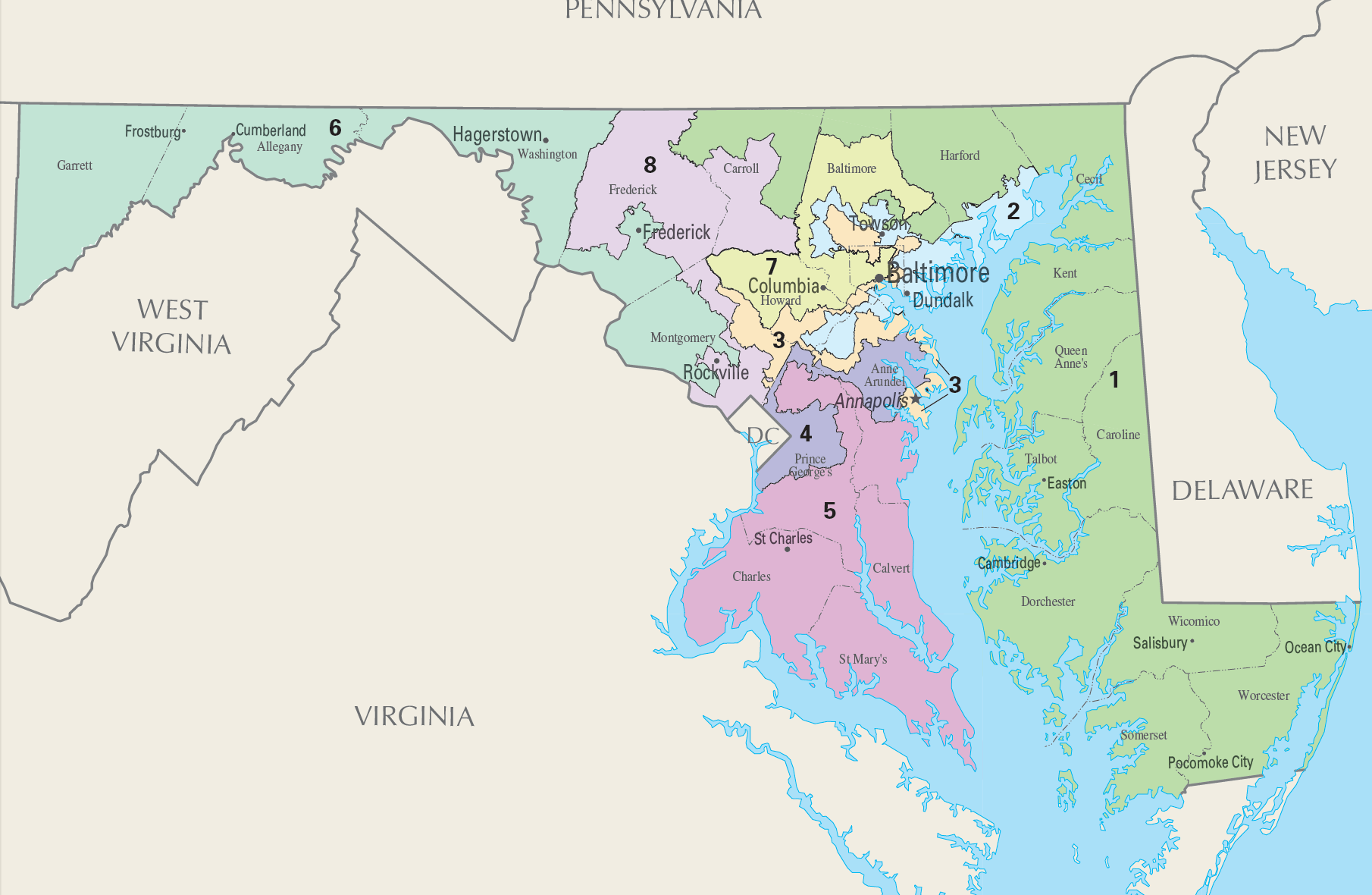 md congressional districts